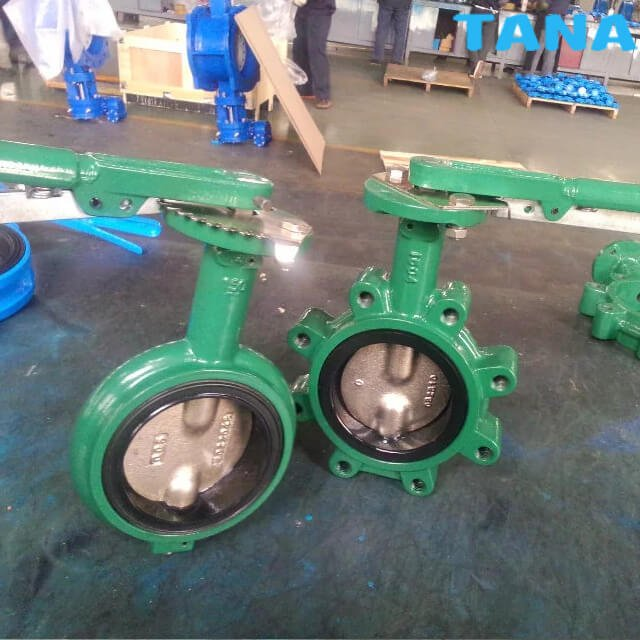 Concentric Resilient Seat Butterfly Valve