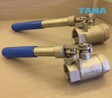 ​2 Piece Spring Return Ball Valve