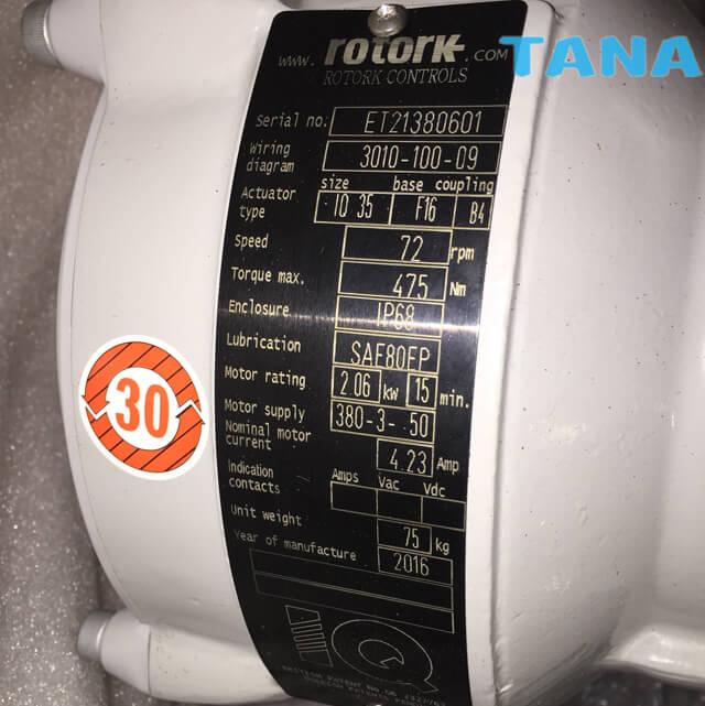 China Rotork Inteligent Multi-turn Electric Actuator,Multi-turn
